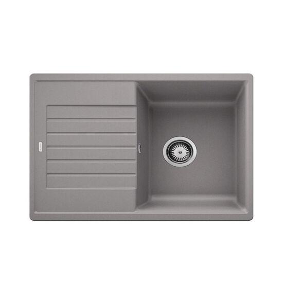 Blanco Zia 45S Compact Alumetál 1m+cs. Silgránit mosogató 680x500mm ext.nélk. 524723