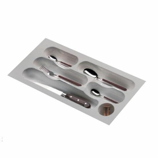 Evőeszköztartó ART 738-30 204/248x428/488mm Metál szürke