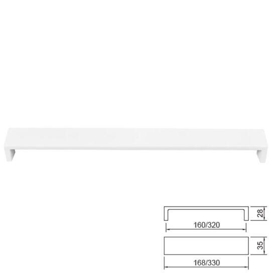 Fogantyú E070-320 Fehér