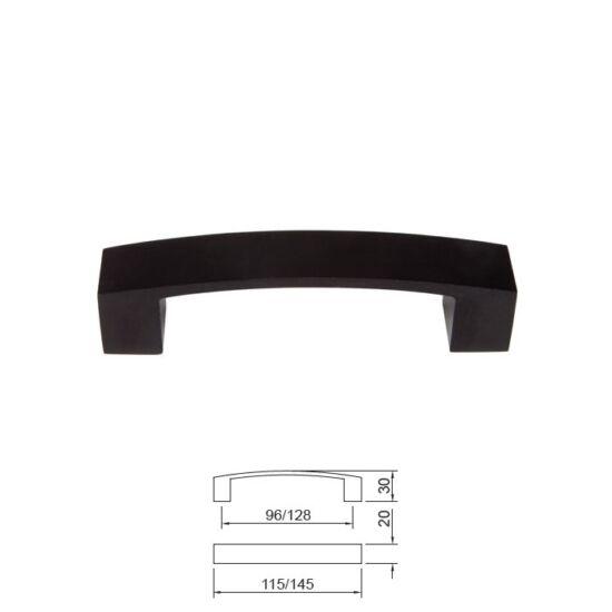 Fogantyú E078-96 Fekete