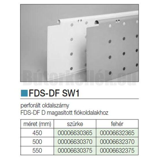 Fiókcsúszó FDS-DF SW2 Oldalszárny 550mm Szürke