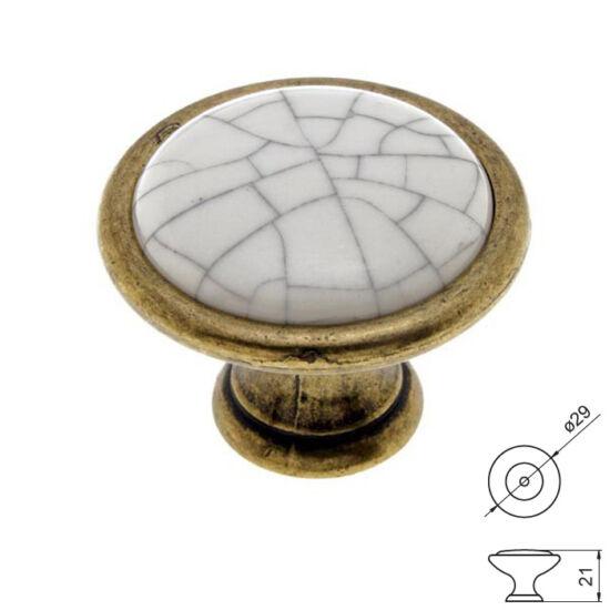 Fogantyú RF 1700-29 Antik bronz-tör átm-:29