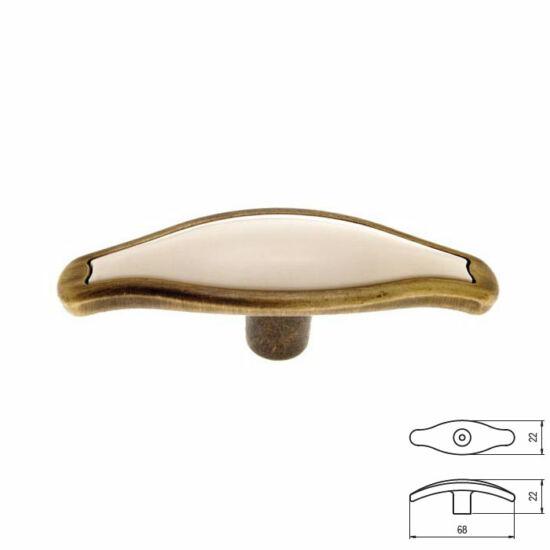 Fogantyú RF 1889-67 Antik bronz-min 22x67