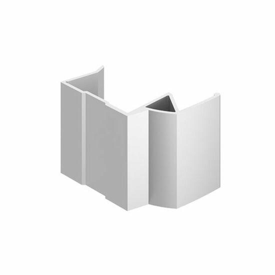 Tolóajtó Fogantyú profil Efekt Alumínium 2650mm