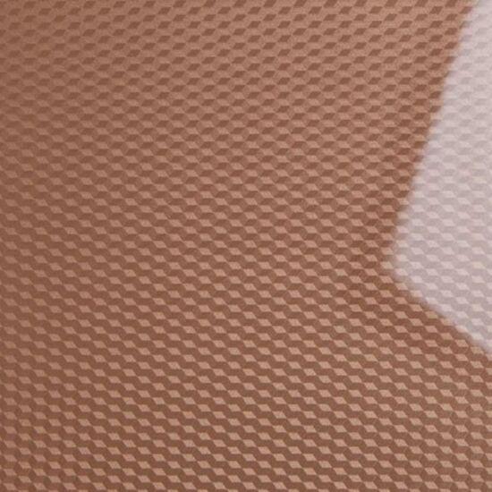 Konfekcionált PVC bútorajtó lap FP0508 Fényes Barna Kockás 3D