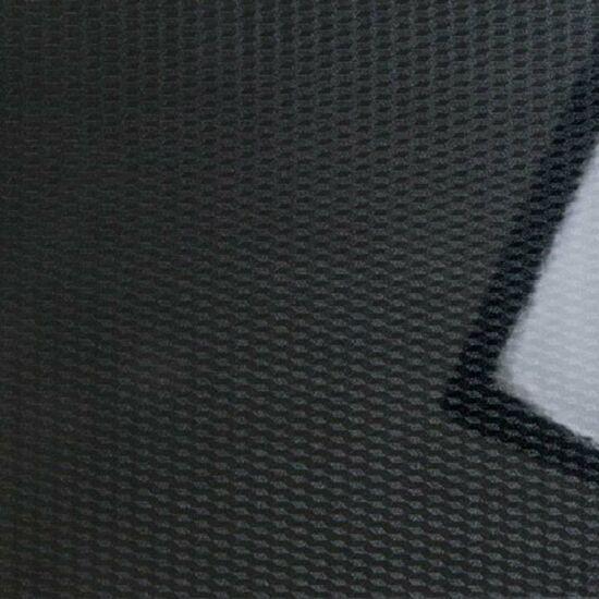 Konfekcionált PVC bútorajtó lap FP0547 Fényes Fekete Kockás 3D