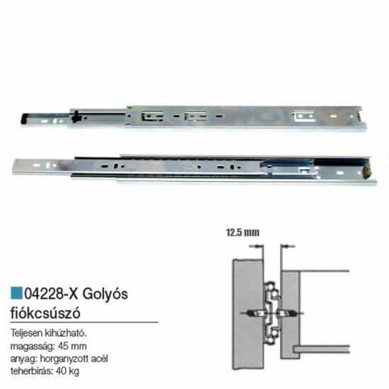 Golyós Fiókcsúszó 500-45mm 04228