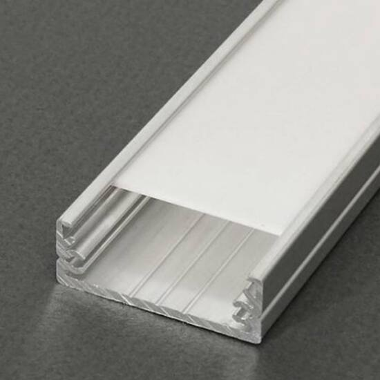 Led profil Wide 2m eloxált alumínium