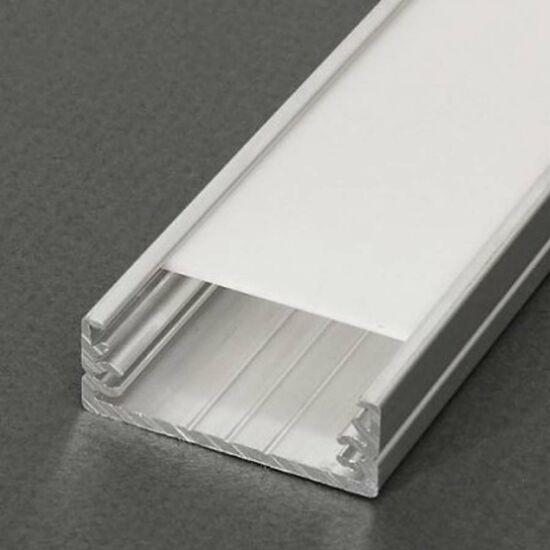 Led profil Wide 2m nyers alumínium