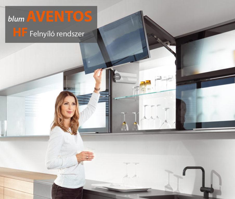 Blum Aventos HF Felnyíló rendszer
