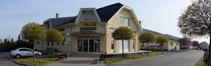 Falco Depo Udvar Telephelyünk